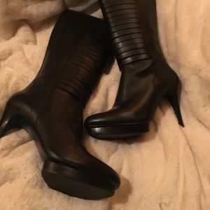 Gorgeous Knee High Cole Haan Boots with Nike Tech